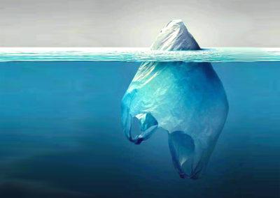 plastica iceberg