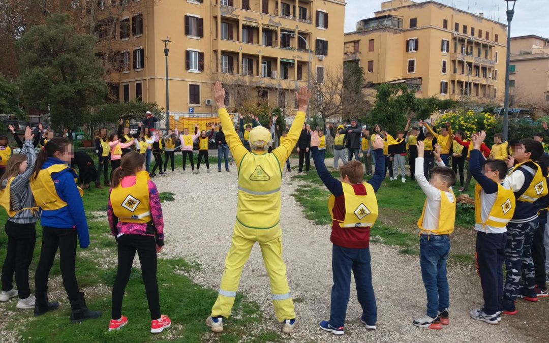 A scuola nel parco per la Festa dell'Albero 2019